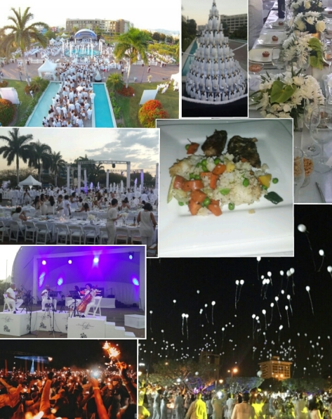 Scenes from Le Diner en Blanc Kingston on March 7, 2015