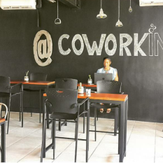 GW Art at The Hub Coworking designed by If Walls Could Talk - Jamaica.