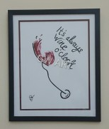 Framed Wall Art PRICE: $9000JMD ***Still AVAILABLE***