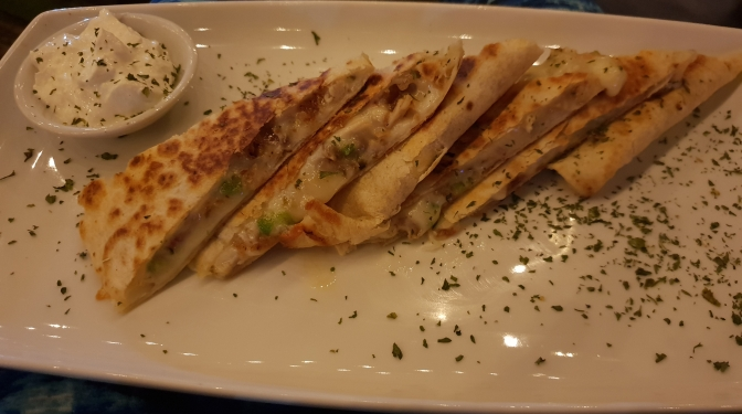 TGIF to these Quesadillas from The Haven!