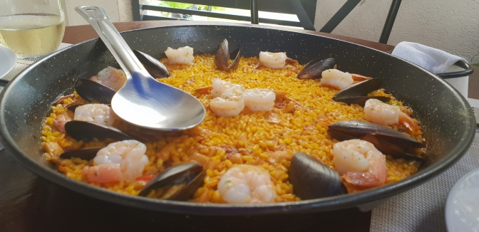Suga takes a Culinary trip to Valencia in Jamaica with I Love Paella!