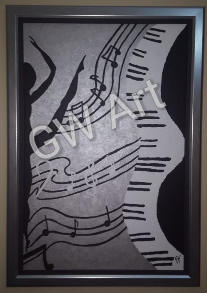 GW Art Adds Pizzazz to the Walls of a Home!