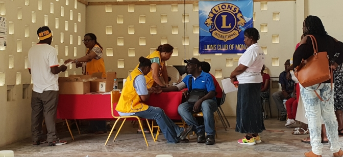 The Lions Club of Mona provides Eye Glasses for scores of Jamaicans