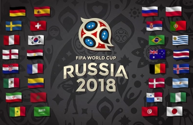 World Cup kicks off today! Who's playing throughout the Weekend?!