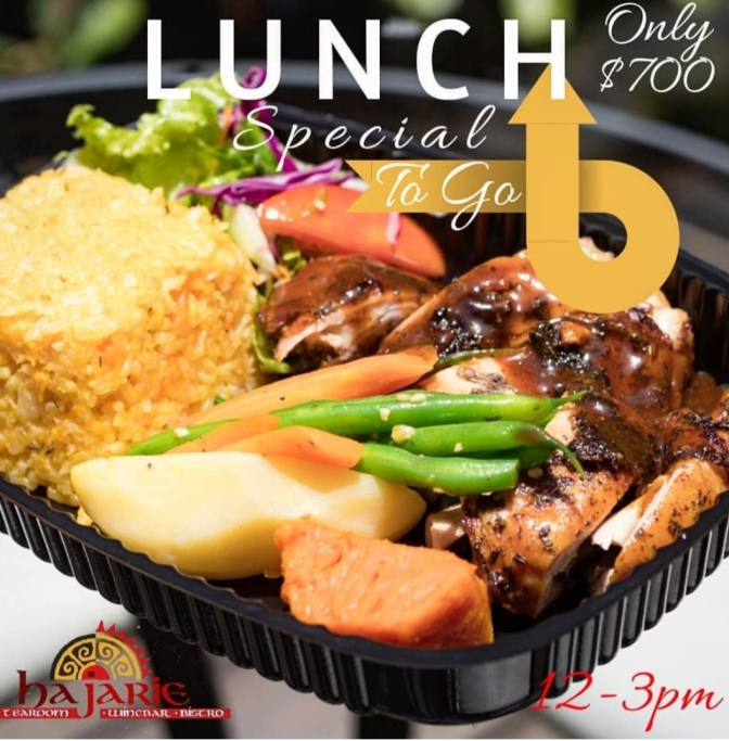 Lunch Specials are  Happening at Hajarie, Phoenix Avenue!