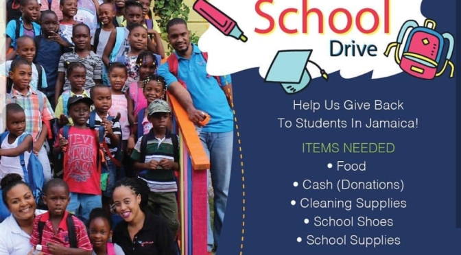 Support Gift of Love Ja's Back to School Stationery Drive!
