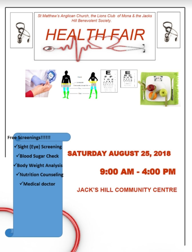 FREE Medicals at Jack's Hill Community Centre this Saturday!