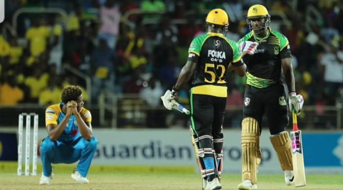 Fling Back Friday #fbf to the Jamaica Tallawahs winning at Sabina!