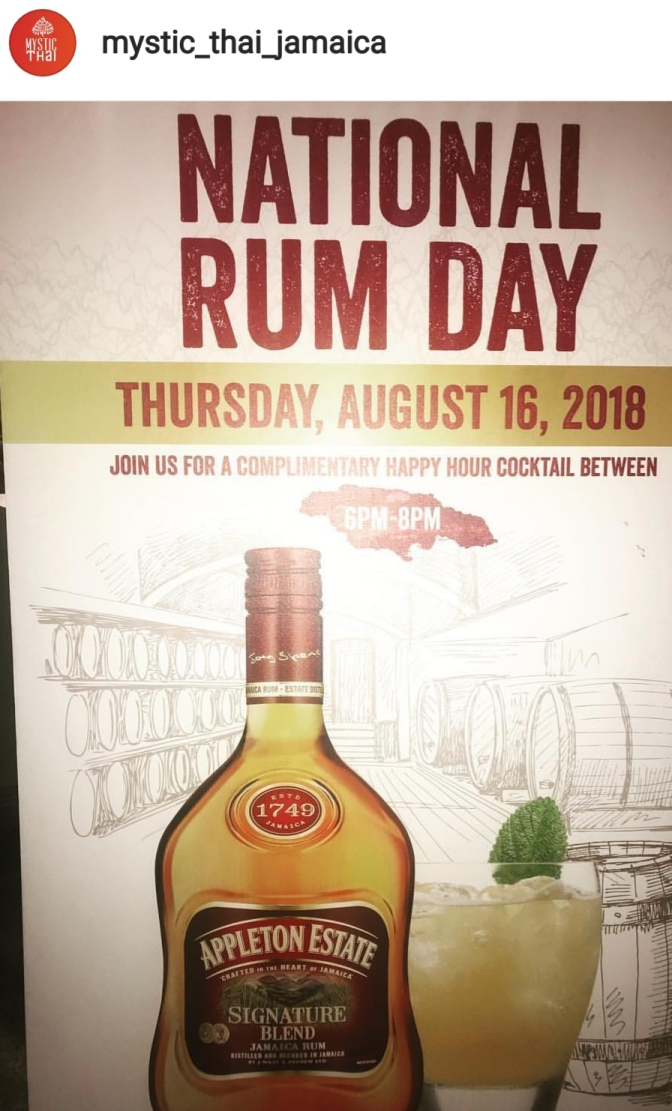 National Rum Day Special!