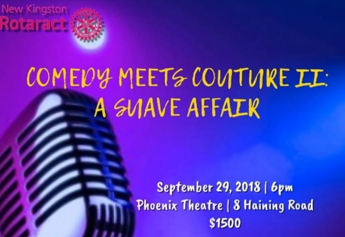 See 'Comedy Meets Couture 2' for Laughs and Charity this Saturday!
