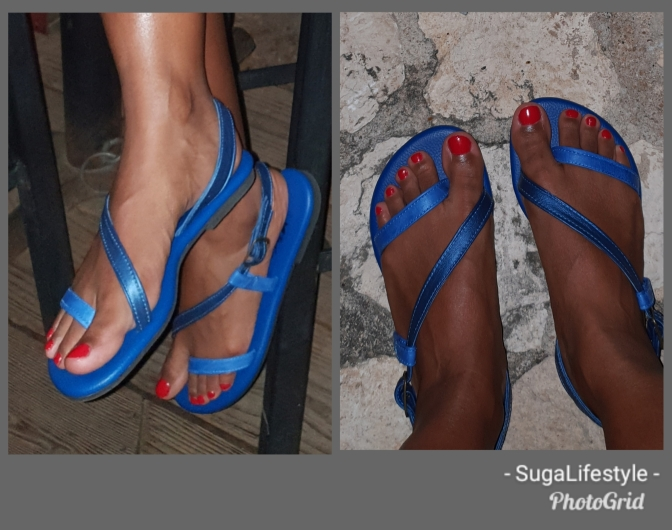 Suga Endorses Leather Sandals from Jan's Accents!