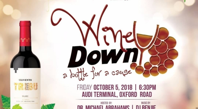Sip for Fun and Toast the Cause this Friday at wine Down for Charity
