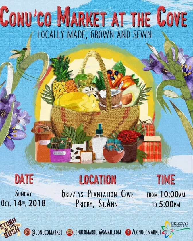 CONU'CO MARKET IS THIS SUNDAY IN OCHO RIOS!