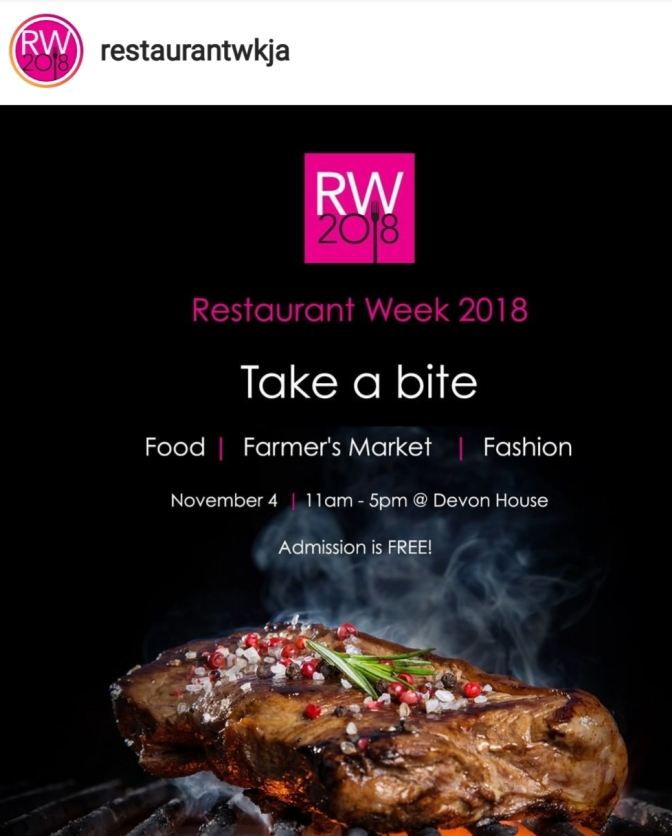 Restaurant Week  2018 launches this Sunday at Devon House