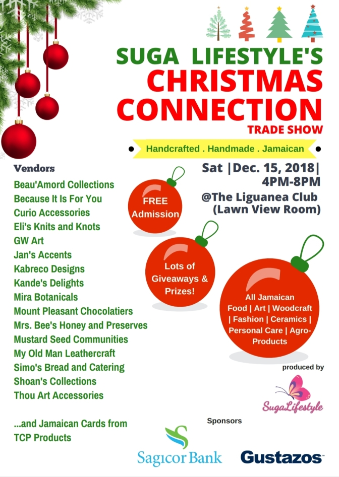 Who will be at Suga Lifestyle's Christmas Connection?!