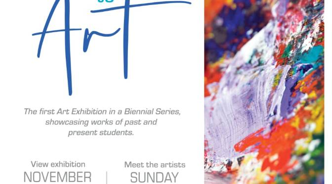 GW Art at Immaculate's Art Exhibition this week!