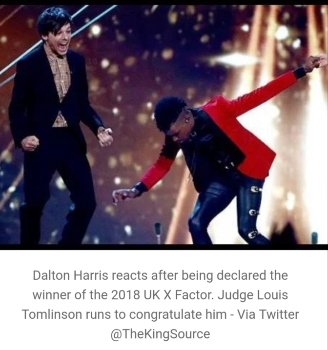 Jamaican talent, Dalton Harris wins UK X Factor 2018!