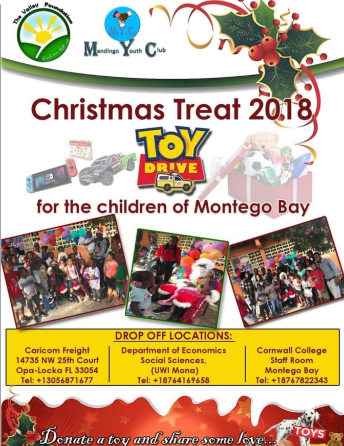 Donate a Toy and Share some Love with the Children of Montego Bay this Christmas