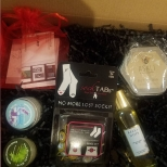 The Vitamin M Box for December includes great stocking stuffers for skincare and more.