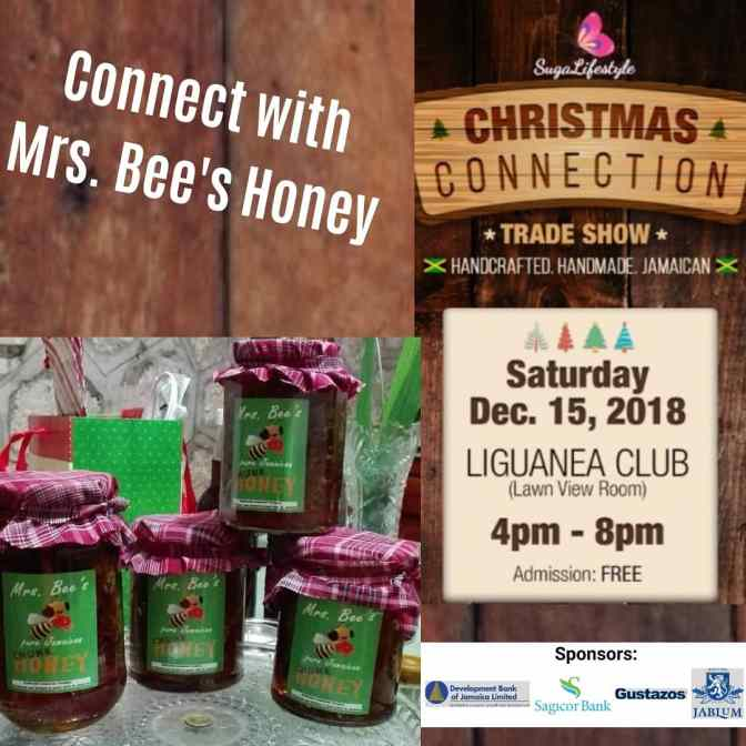 Connect with Mrs. Bee's Honey December 15 at SL Christmas Connection!