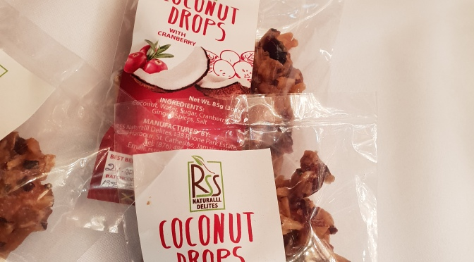 'RSS Natural Delites'  for your Coconut Drops!