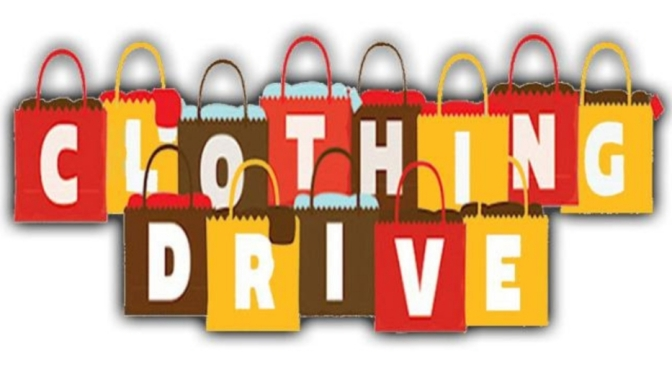 Clothing Drive this January in Kingston!