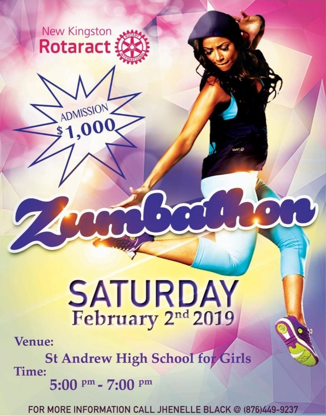 Remember to Zumba/Dance exercise for Charity Tomorrow!