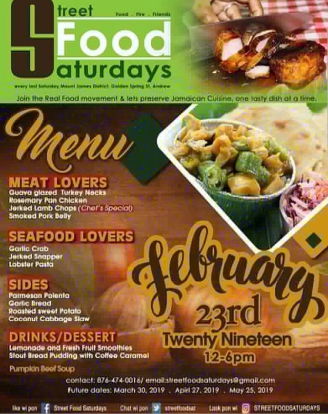 TGIF! Street Food Saturdays is Tomorrow!