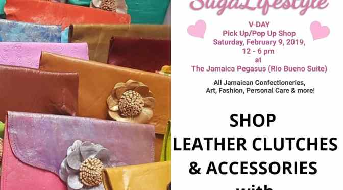 Shop Handmade Leather Products for the Ladies TOMORROW at SL's V-Day Pop Up Shop!
