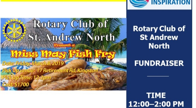Enjoy Miss May's Fish Fry for Charity this Friday!