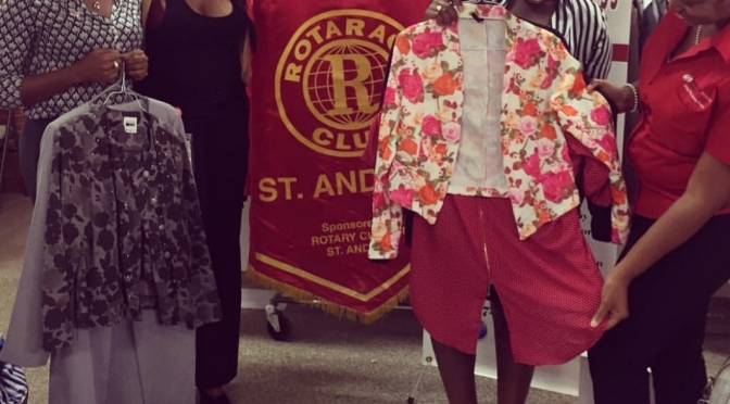 Rotaract St. Andrew donates to Dress for Success Jamaica