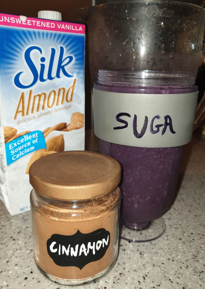 Suga's Healthy Blueberry-Banana Smoothie Recipe