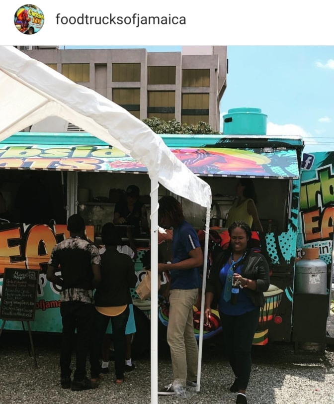 Food Trucks of Jamaica at Kensington Crescent!