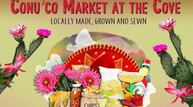 Shop Mother's Day Gifts this Sunday at Conu'co Market at the Cove in Ocho Rios!