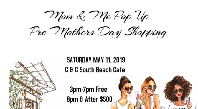 Mom & Me Pop Up this Saturday!