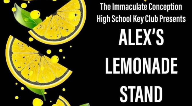 Beat the Heat and Support Immaculate Key Club's Lemonade Stand in Hope Gardens this Saturday!
