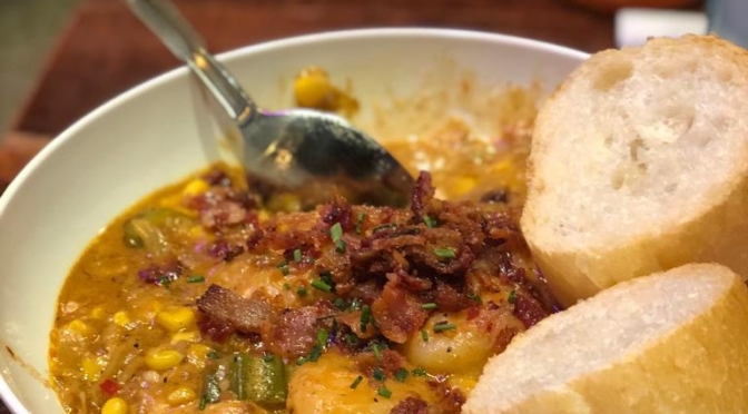 #tbt to Shrimp and Grits from New Orleans!