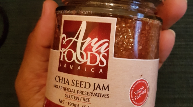 Healthy Chia Seed Jams, Nuts and other Snacks from Ara Foods Jamaica!