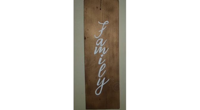 Another Wooden Sign by GW Art!