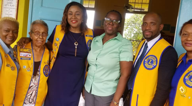 The Lions Clubs of Mona and New Kingston Donate to the Paediatric Cancer   Patients at Bustamante Hospital
