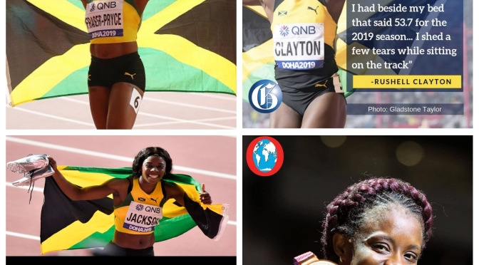 Jamaica Finish with their 2nd Biggest Medal Haul ever at the World Championships!
