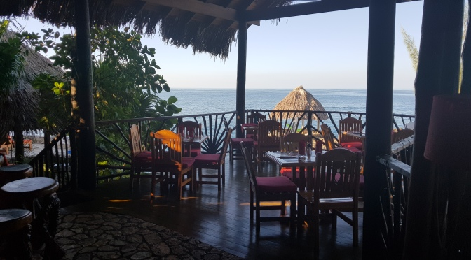 Throwback Thursday to a Cliffside Dinner in Negril!