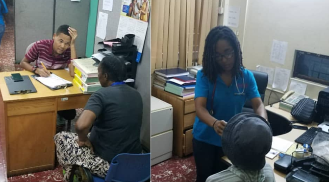Rotaract Club of New Kingston Treat the Homeless with Medicals & more last Saturday