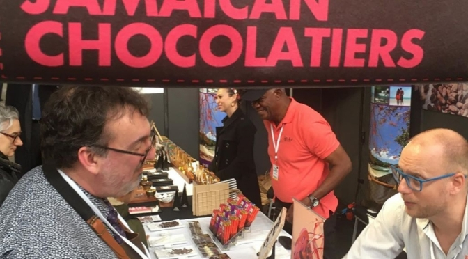 Our Jamaican Chocolatiers represented at Salon du Chocolat in Belgium!