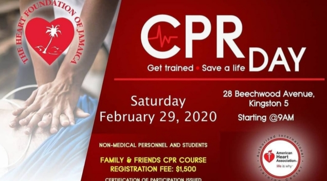 Get Trained to Save Lives this Saturday!