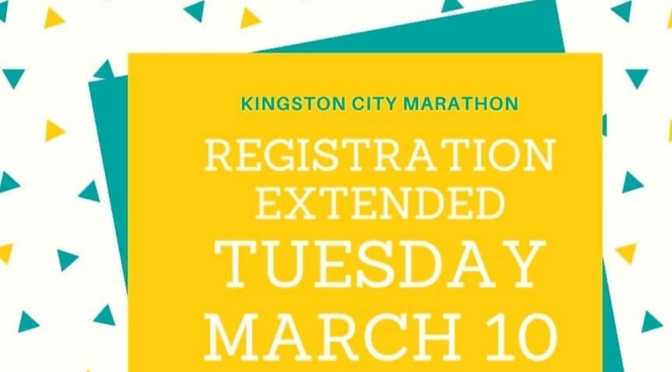 Registration Extended for Kingston City Marathon!