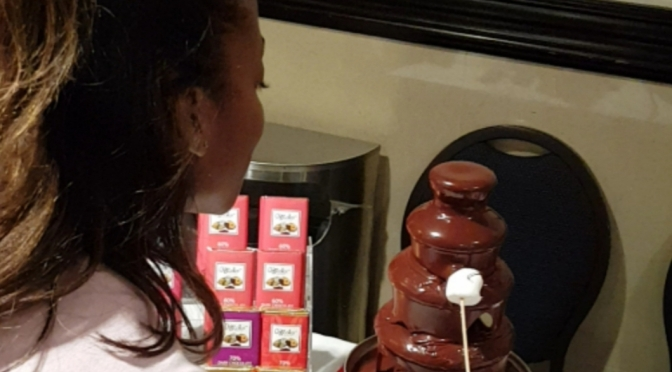 #tbt to Indulging in Chocolate from Chocollor Chocolate!