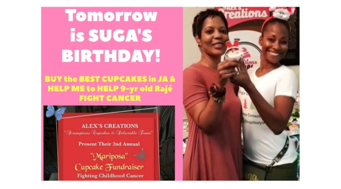 JOIN SUGA AND AID ALEX'S CREATIONS' 2nd ANNUAL CUPCAKE FUNDRAISER TO FIGHT CHILDHOOD CANCER